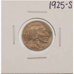 1925-S Buffalo Nickel Coin