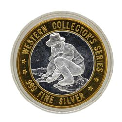 .999 Silver Bally's Saloon & Gambling Hall Hotel Limited Edition Gaming Token