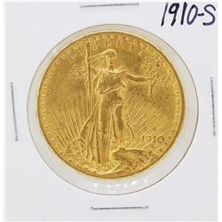 1910-S $20 St. Gaudens Double Eagle Gold Coin