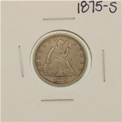 1875-S Seated Liberty Twenty Cent Piece Coin