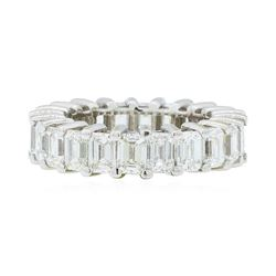 14KT White Gold 7.50 ctw Diamond Eternity Band