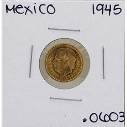 1945 Mexico 2 1/2 Pesos Gold Coin