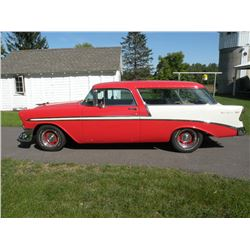 1956 CHEV BEL AIR NOMAD VIN # VC56K096064 NO RUST Colorado body