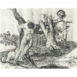 FRANCISCO GOYA Spanish 1746-1828 Ink on Paper