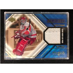 UPPER DECK BLACK DIAMOND GAME GEAR CHRISS OSGOOD (GAME USED PADS)