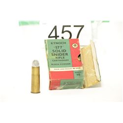 Antique Kynoch Ammo