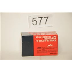 Federal .22lr 500 Count