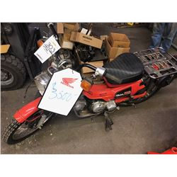 HONDA VINTAGE CT110 ON/OFF ROAD MOTORCYCLE