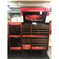 3 PC SNAP ON ROLLING SHOP TOOL CABINET