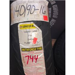 NEW DUNLOP TUBELESS TIRE 140/90-16M/$177.39