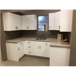 COMPLETE SHOWROOM AND WAREHOUSE DISPERSAL OF NEW KITCHEN  BATH CABINETS, APPLIANCES  DECOR. ALL SOLD