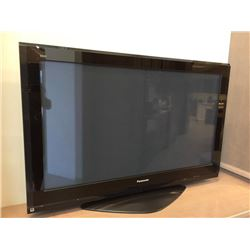 "Panasonic 50"" Television ( display model, no cords, sold as is)."