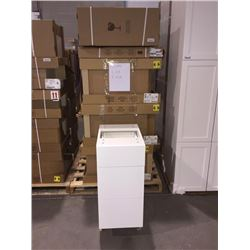 LOT of 10 NEW in boxes, white Vanity Base cabinets assorted sizes.