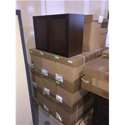 LOT of 11 NEW in boxes, Kitchen  bath cabinets assorted sizes.