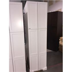 "NEW White 24"" x 80"" - 6 door Pantry Cabinet"