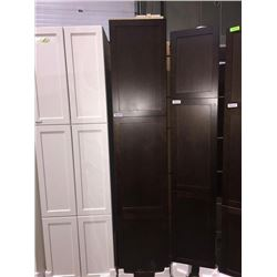 "NEW Espresso 18"" x 80"" - 3 door Pantry Cabinet"