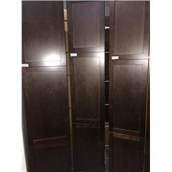 "NEW Espresso 15"" x 80"" - 3 door Pantry Cabinet"