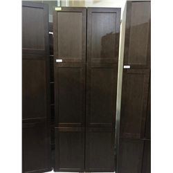 "NEW Espresso 30"" x 80"" - 6 door Pantry Cabinet"
