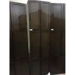 "NEW Espresso 24"" x 80"" - 6 door Pantry Cabinet"