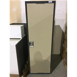 "Metal single door Locker 24""x72"""