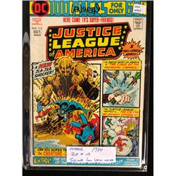 1974 JUSTICE LEAGUE OF AMERICA #113 SIGNED BY WRITER LEN WEIN