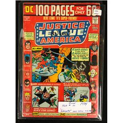 1974 JUSTICE LEAGUE OF AMERICA #111 SIGNED BY WRITER LEN WEIN