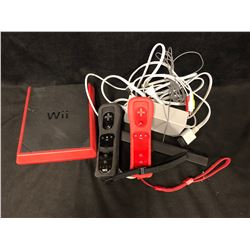 NINTENDO Wii SYSTEM W/ CONTROLLERS
