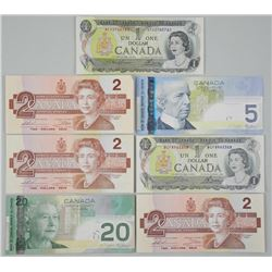 Lot - Canada Paper Currency 33.00 Face, New Album