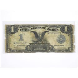 1899 USA Silver Dollar Certificate - Blue Seal.