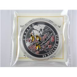 .9999 Fine Silver $20.00 Coin 'Winter Freeze' SOLD