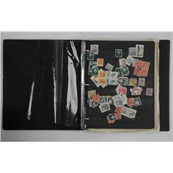Estate - Stamp Album, Binder Full - World Stamps