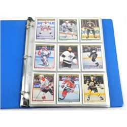 1991 OPEE CHEE 132pc Card Set Complete with Jagr -