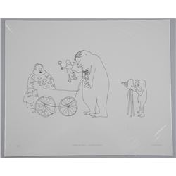 John Lennon Litho 'We Must Not Forget' 13x17 Unfra