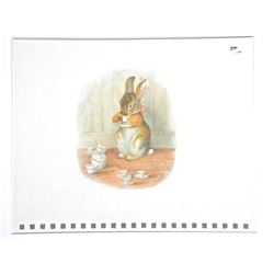 Beatrix Potter Giclee. 10x12 Inches.