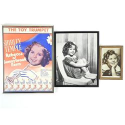 3 Shirley Temple Picture Frames.