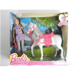 Barbie with Horse
