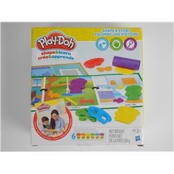 Play Doh Shape and Learn