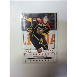 1 Connor McDavid Erie Otters card # 11