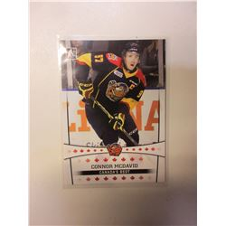 1 Connor McDavid Erie Otters card