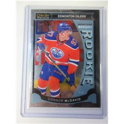 O-Pee-Chee Connor McDavid Platinum  Rookie Card  M1
