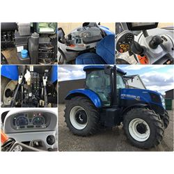 2011 NEW HOLLAND T 7.170 FWA TRACTOR WITH AUTO COMMAND CVT