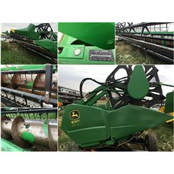 2007 JOHN DEERE 630F 30' FLEX AUGER HEADER NO TRANSPORT