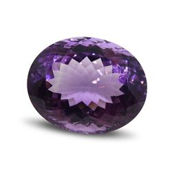 25.91ct Oval Amethyst Gemstone