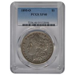 1895-O $1 Morgan Silver Dollar Coin PCGS XF40