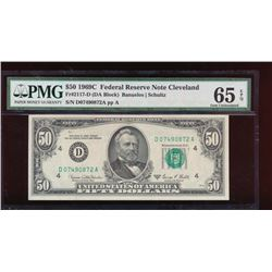 1969C $50 Cleveland Federal Reserve Note PMG 65EPQ