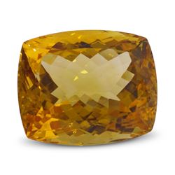 5.87ct Cushion Citrine Gemstone