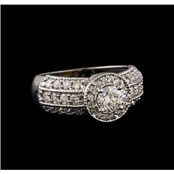 1.28 ctw Diamond Ring - 14KT White Gold