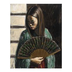 Study For Japanese Girl III by Perez, Fabian