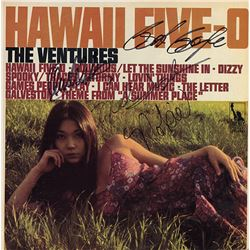 The Ventures Signed Hawaii Five-O Album