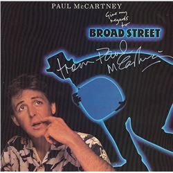 Paul McCartney Signed Give my Regards to Broad Street Album
